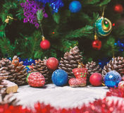 Merry christmas card. Winter holidays. Xmas theme. Merry christmas card, Winter holidays  Xmas theme. Happy New Year Stock Images