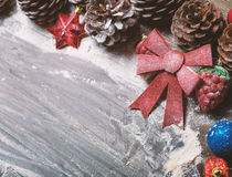 Merry christmas card. Winter holidays. Xmas theme. Merry christmas card, Winter holidays  Xmas theme. Happy New Year Royalty Free Stock Photos