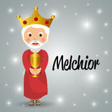 Merry christmas cartoons Stock Photo