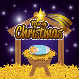 Merry christmas cartoons Royalty Free Stock Images