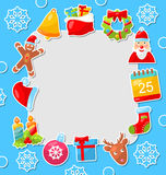 Merry Christmas Celebration Card Stock Images