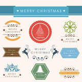 Merry Christmas celebration concept. Stock Images