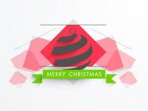 Merry Christmas celebration concept. Royalty Free Stock Photos