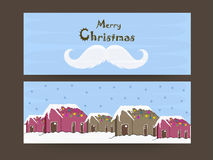Merry Christmas celebration with header or banner. Stock Photo