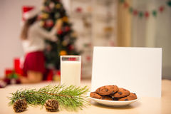 Merry Christmas celebration Stock Images