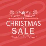 Merry Christmas celebration poster design. Stock Photo