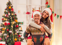 Merry Christmas celebration royalty free stock photography
