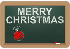 Merry christmas chalkboard Royalty Free Stock Photos