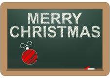 Merry christmas chalkboard Royalty Free Stock Photos