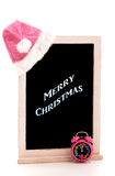 Merry Christmas Chalkboard Royalty Free Stock Photography