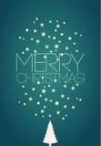 Merry Christmas! Christmas card design. Vector illustration. Eps10. Royalty Free Stock Image