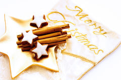 Merry Christmas, Christmas confectionary Royalty Free Stock Image