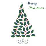 Christmas tree design Stock Photos