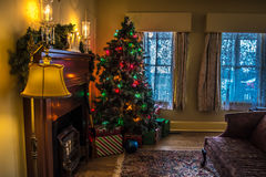 Merry Christmas. From Cleveland OH in the Christmas story house Stock Images