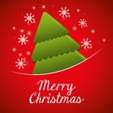 Merry christmas colorful card design Stock Photo