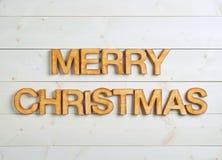 Merry Christmas composition Stock Photos
