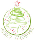 Merry Christmas concept Royalty Free Stock Photo