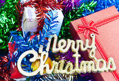 Merry Christmas concept Stock Photography