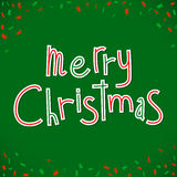 Merry Christmas congratulation Royalty Free Stock Photography