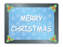 Merry Christmas congratulation Royalty Free Stock Photos