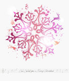 Merry Christmas contemporary background Royalty Free Stock Image