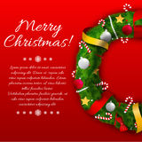 Merry Christmas creative background. Royalty Free Stock Photography