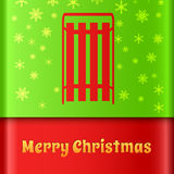 Merry Christmas creative background. Stock Images