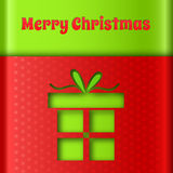 Merry Christmas creative background. Stock Photography