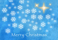 Merry Christmas Creeting Card Royalty Free Stock Photos