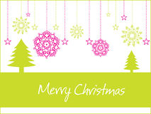 Merry christmas day background Stock Photography