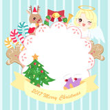 Merry christmas day Stock Photography