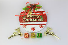 Merry Christmas Day. With Christmas Collection Royalty Free Stock Image