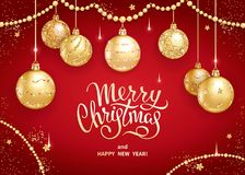 Free Merry Christmas Decoration 2019 Stock Images - 129979004