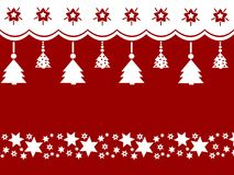 Merry Christmas decoration clean design Stock Photography