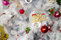 Merry Christmas Decoration Royalty Free Stock Photo