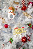 Merry Christmas Decoration Royalty Free Stock Image