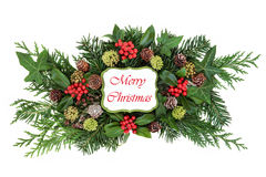 Merry Christmas Decoration Royalty Free Stock Photos