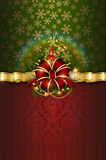 Merry christmas decorative background. Stock Photo