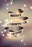 Merry Christmas design. Blurry vector background. Eps 10. Royalty Free Stock Image