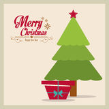 Merry Christmas design Royalty Free Stock Images