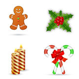 Merry Christmas design elements Royalty Free Stock Photography