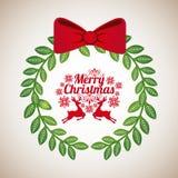 Merry christmas design Royalty Free Stock Photos