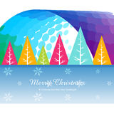 Merry christmas design Stock Image