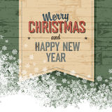 Merry Christmas Design Template Vector Royalty Free Stock Photography