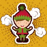 Merry christmas design. Vector illustration eps10 graphic royalty free illustration
