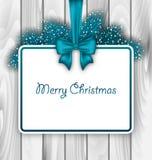 Merry Christmas Elegant Card Stock Photo