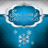 Merry Christmas!. Elegant hanging decoration card in  format Royalty Free Stock Photography