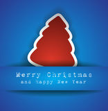 Merry Christmas Elegant Suggestive Background. For Greetings Card Stock Images