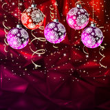 Merry Christmas Elegant Suggestive. EPS 8. Merry Christmas Elegant Suggestive Background for Greetings Card. EPS 8 vector file included Stock Photos