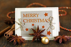 Merry Christmas - English version Royalty Free Stock Images